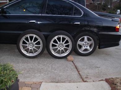 Acura TL Acura Inch Rims And Tires - 2003 acura tl rims